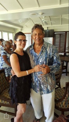 Mark J. + myself in Kaua'i after the Go90Grow live event, August 2016