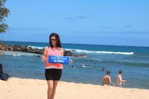 Poipu Beach, Kaua'i, Hawaiian Islands August 2016