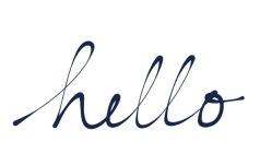 hello-handwriting