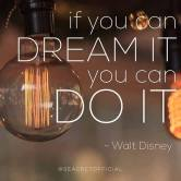 DREAM - Walt Disney quote
