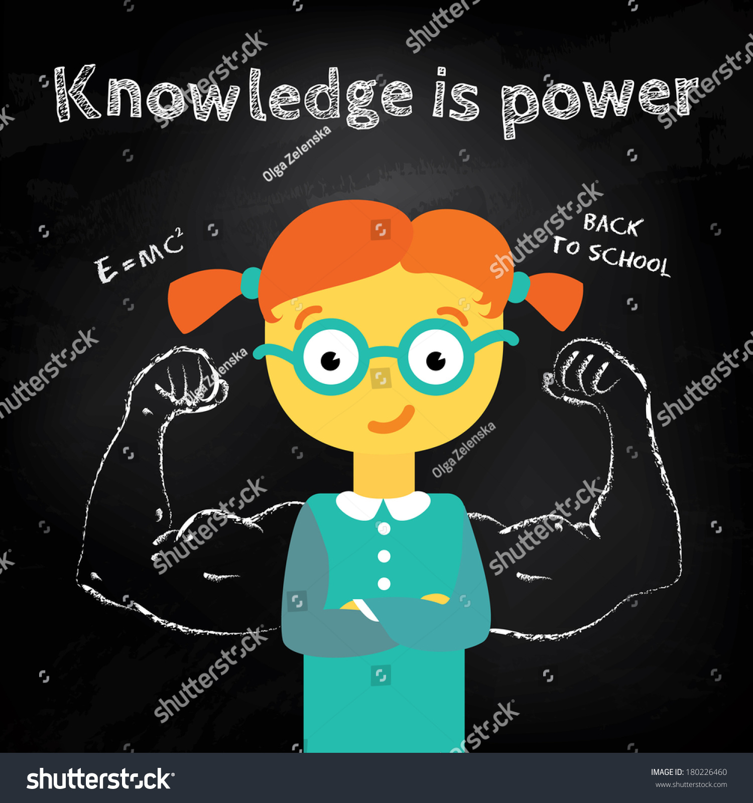 Knowledge is power girl