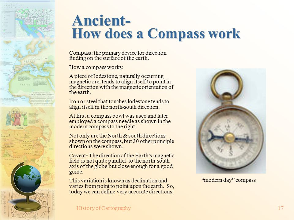 Ancient-+How+does+a+Compass+work