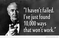 thomas edison 10,000 ways it didn't work