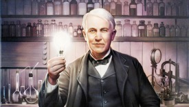 Thomas Edison lightbulb factory